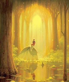 [Walt Disney Animation Studios] Tiana y el Sapo Disney Magic, Disney Pixar, Walt Disney, Disney Dream, Disney Animation, Disney Cartoons, Disney Amor, Disney E Dreamworks, Moana Disney