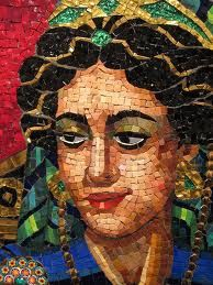 Lilian Broca mosaic