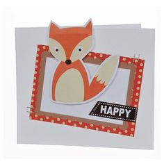 We love this happy little fox made using the Into The Woods collection from Craft Asylum.
