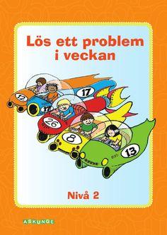 Boken består av 32 olika matematiska problem, precis som den första boken. Använd gärna problemen som introduktion till ett arbetsområde, som hemuppgift eller som extra diskussionsuppgift i klassrummet. Lös ett problem i veckan är ett kopieringsmaterial där eleverna dokumenterar sina lösningar på arbetsbladet. Arbeta i par och diskutera olika strategier. För att ytterligare förstärka de begrepp som är i fokus är ett alternativ att be eleverna skriva egna liknande problem!