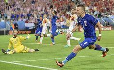 Croacia pasa como primera en el grupo de España