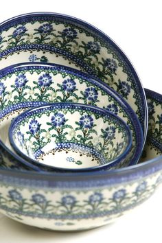 Independent Boleslawiec Polish Pottery Casserole Dish With Lid Cobalt Blue & White Swirls Polish Pottery