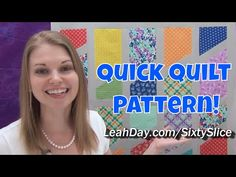 Piece This Gorgeous Quilt In Under 3 Hours! – Crafty House