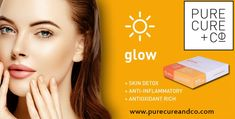 Don't let your skin bother your mood. Buy high-quality and 100% natural skin care supplement from Pure Cure and Co.
