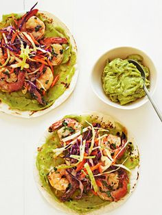Baja-Style Shrimp Tacos- Made these for dinner...so good!