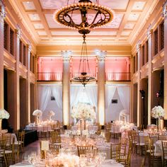 Bently Reserve Wedding with all round tables
