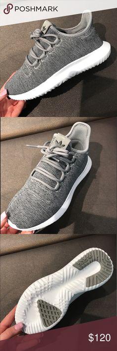 Adidas Tubular Adidas tubular grey. Shadow knit. Size 7 and 7.5. Brand new in box. Adidas Shoes Athletic Shoes