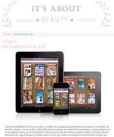 Bekijk het hele artikel op: http://www.itsaboutbeauty.nl/reclamefolder-app/