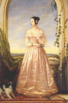 historyofromanovs: grã-duquesa Alexandra Nikolaevna da Rússia, filha do czar Nicolau I.