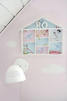 girl's room detail