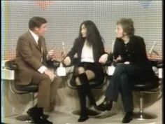 February 14, 1972:  John Lennon and Yoko Ono begin their week-long stint as guest hosts on the syndicated Mike Douglas Show.