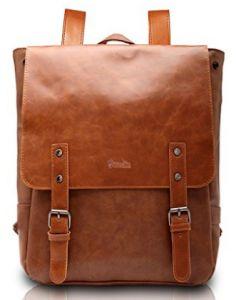 3d8fa9fc6ff0 Good god Pu Crazy Horse Leather-Like Vintage Women s Backpack School Bag   Zebella Men s Unbalance Chest Pack Multipurpose Backpack Crossbody Shoulder  Bag