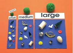 Montessori Materials Product Detail: Montessori N' Such (size sort)