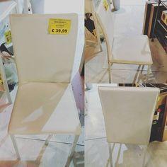 #sottocosto di oggi #sedia #ecocuoio #secondascelta #39euro #ultimi4pezzi #prenotasubitosuisocials #prendiliorachencelartrovi
