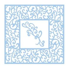 Couture Creations - Intricutz - Elegant Card Cuts - Vierge Square Dies