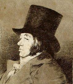 Self Portrait, Francisco de Goya y Lucientes