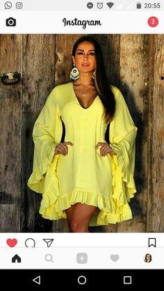 Look Fashion, Skirt Fashion, Fashion Dresses, Womens Fashion, Fashion Design, Long Shirt Dress, African Dress, Yellow Dress, Chic Outfits