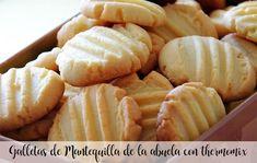 Galletas de Mantequilla de la abuela con thermomix Mantecaditos, Honeydew, Fondant, Cookies, Fruit, Desserts, Recipes, Food, Chip Cookies