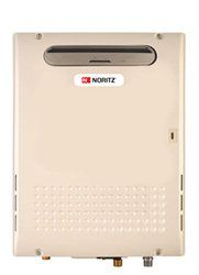 A tankless gas/propane hot water heater--saves energy, makes sense!