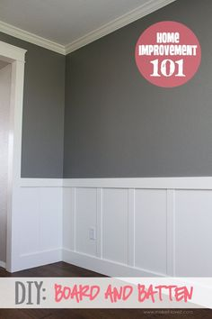 awesome Home Improvement: DIY Board and Batten by http://www.top10-homedecorpics.xyz/home-improvement/home-improvement-diy-board-and-batten/