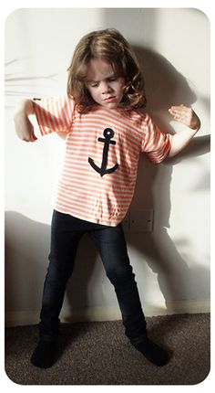 Anchor tee  skinny jeans