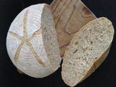 Kváskový špaldovoražný chlieb, Chlieb a pečivo, recept | Naničmama.sk Pizza, Tasty, Bread, Baking, Hampers, Bread Making, Patisserie, Backen, Breads