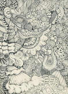 Awesome Zentangle art. This gorgeous piece is not mine but this is what I do. Zen Doodle, Doodle Art, Art Plastique, Zentangle Drawings, Doodles Zentangles, Art Drawings, Doodle Patterns, Zentangle Patterns, Art Photography
