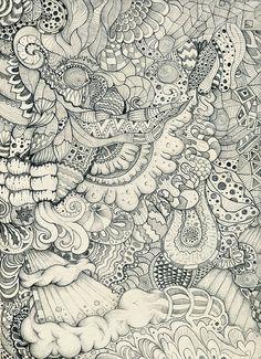 Awesome Zentangle art