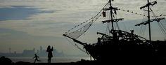 корабель, флот, море
