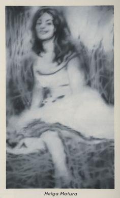 Gerhard Richter, Helga Matura, 1966, 180 cm x 110 cm, Oil on canvas