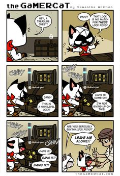 the GaMERCaT :: Locksmith | Tapastic - image 1