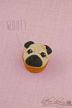 Pug Cupcake - :D