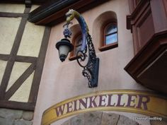 Germany's Weinkeller The Wine Walk at Epcot - perfect for Dad!