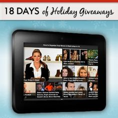 Win a Kindle Fire HD! #fitsugar #giveaway #fingerscrossed