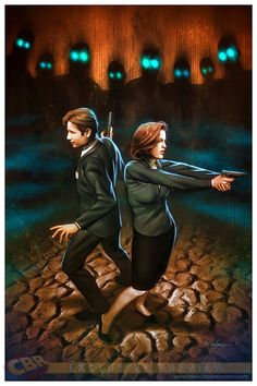 The further adventures of agents Fox Mulder and Dana Scully.