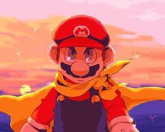 Super Mario And Luigi, Super Mario Art, Super Mario World, Super Mario Brothers, Super Smash Bros, Metroid, Mario Fan Art, Sonic Fan Characters, Marvin The Martian