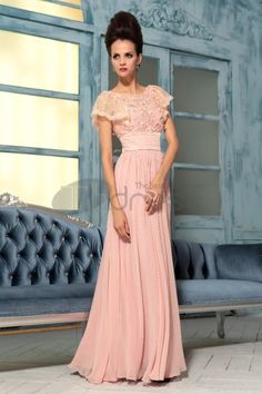 e106accf94c7 Angie in Pink Floral Bridesmaid Dress