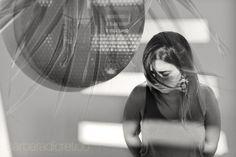 Barbara Di Cretico#portrait#lights shadows#bw#wind