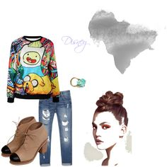 disney dove by devilwearstilesfromprada on Polyvore featuring moda, Zara and Unearthen