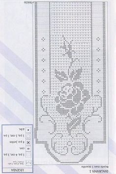 This is an interesting and nice stitch pattern: the Chevron Retro Stitch Wave Crochet pattern which I'm sure you guys would like to know how it is done. Crochet Curtain Pattern, Crochet Curtains, Crochet Motif, Irish Crochet, Crochet Designs, Crochet Doilies, Crochet Flowers, Crochet Table Runner, Crochet Tablecloth