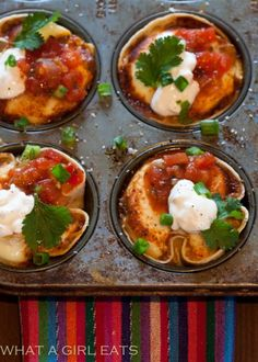 What a Girl Eats: Mexican Egg Cups