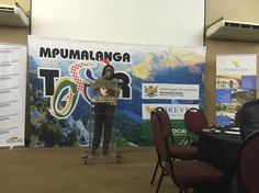 MEC DCSR Norah Mahlangu Mabena declares the #MpumalangaCycleTour officially open at the Coctail Opening Ceremony at Loskopdam, A Forever Resort!!!