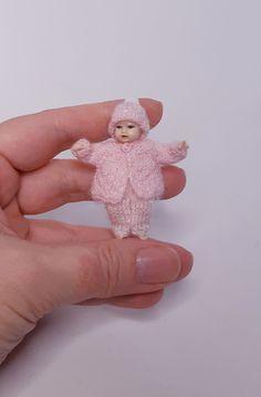 Handmade knitts for Heidi Ott baby doll