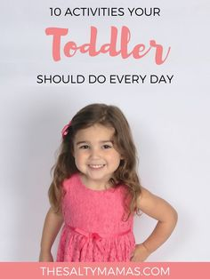 Looking for a toddler daily schedule that will help your child THRIVE (without a ton of prep?) Get your copy now, from thesaltymamas.com. #toddlerdailyschedule #printabletoddlerschedule #activitiesfortoddlers #toddlerart #sensoryactivities #toddleractivities #activitiesforbabies