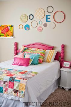 Darling bedroom makeover for girls!