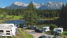 Tipps für Camping am See in Deutschland Camping Resort, Camping Am See, Strand Camping, Recreational Vehicles, Mountains, Nature, Travel, Caravan Salon, Travel Trailer Camping