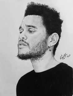 The Weeknd - awesome art! <3