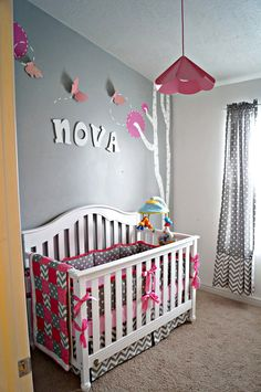 Elegant Pink Grey Nursery Room Of 16 Best