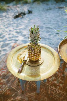 Yum. Sweet pineapples.
