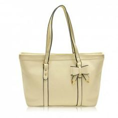 $18.57 Career Women's Shoulder Bag With Solid Color and Bowknot Design